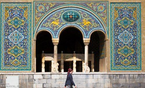 کاخ گلستان - جاهای دیدنی تهران برای عکاسی