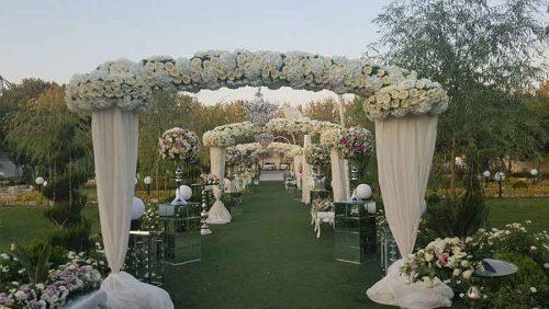 باغ تالار عروسی رزا کادرو kadro.co