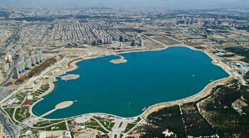 دریاچه خلیخ فارس