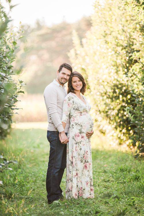 مدل عکس بارداری دونفره