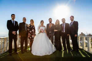 عکس دسته جمعی عروس