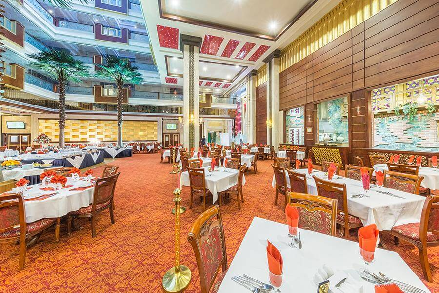 عکاسی از رستوران هتل درویش مشهد