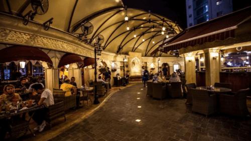 کافه ویکولو در الهیه برای جشن تولد