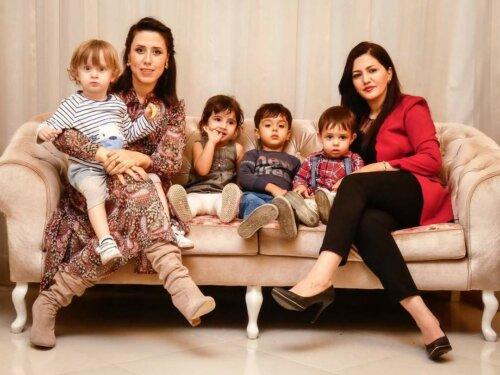 عکاسی خانوادگی در خانه